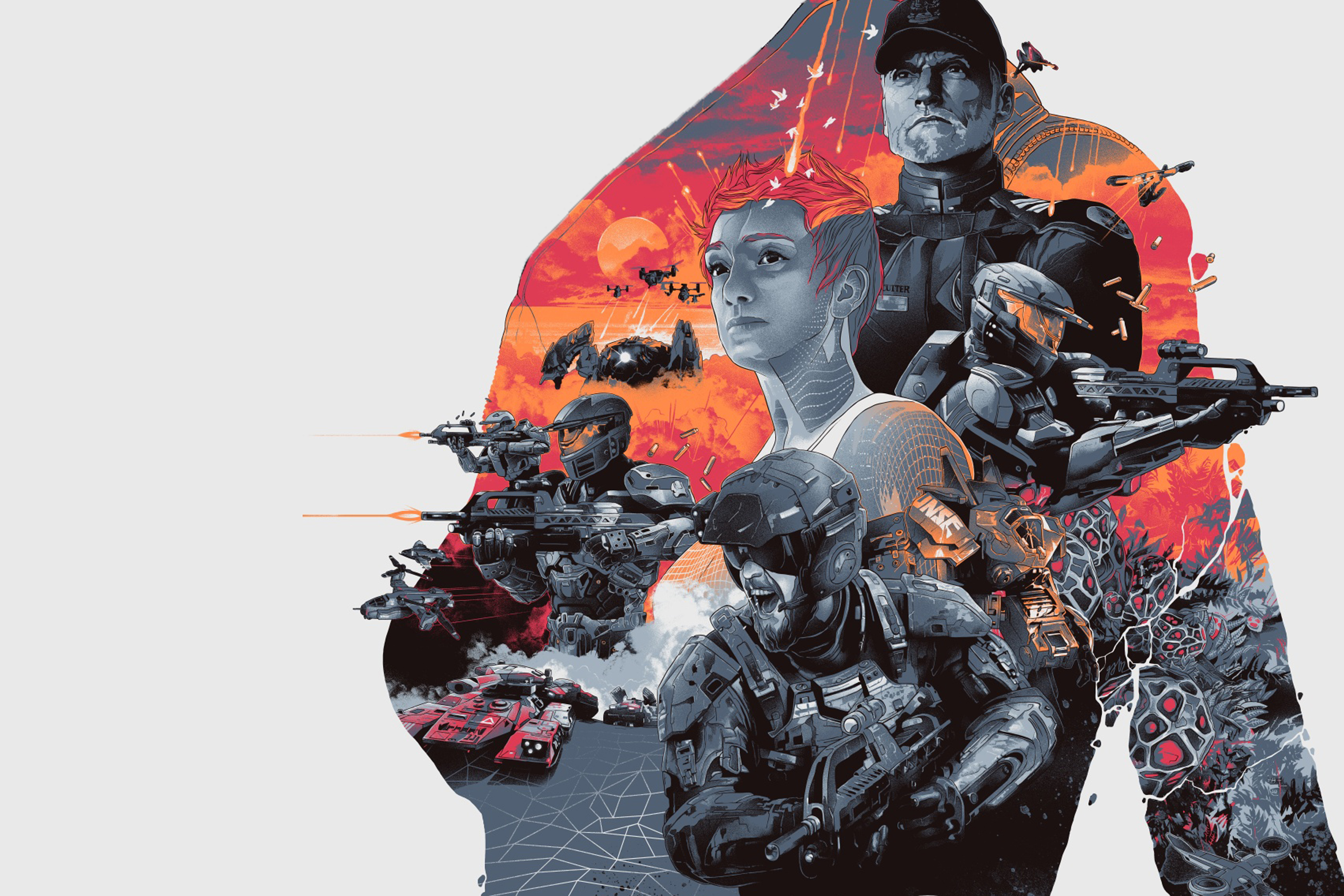 Halo Wars 2 Wallpaper: Halo Wars 2 Leaders Wallpaper Image