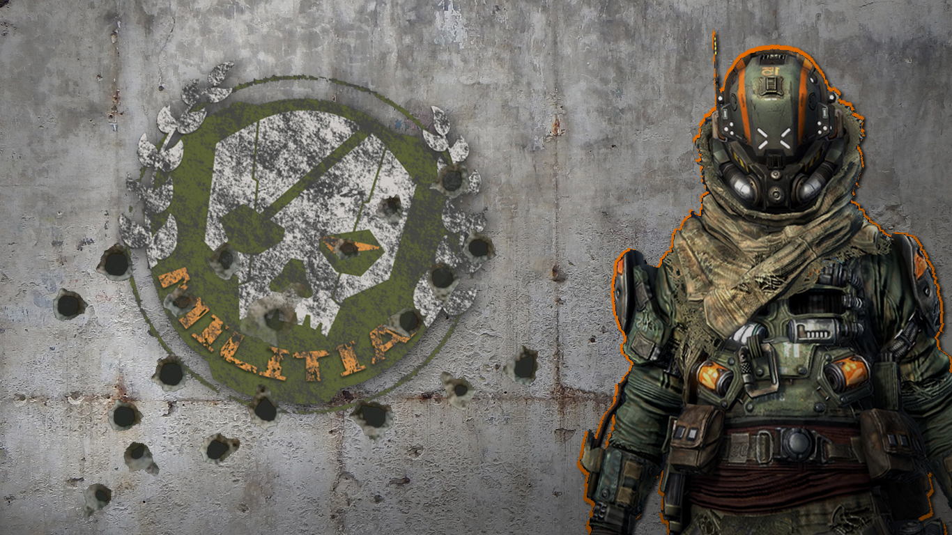 Report RSS Titanfall Militia Pilot Wallpaper (view original)