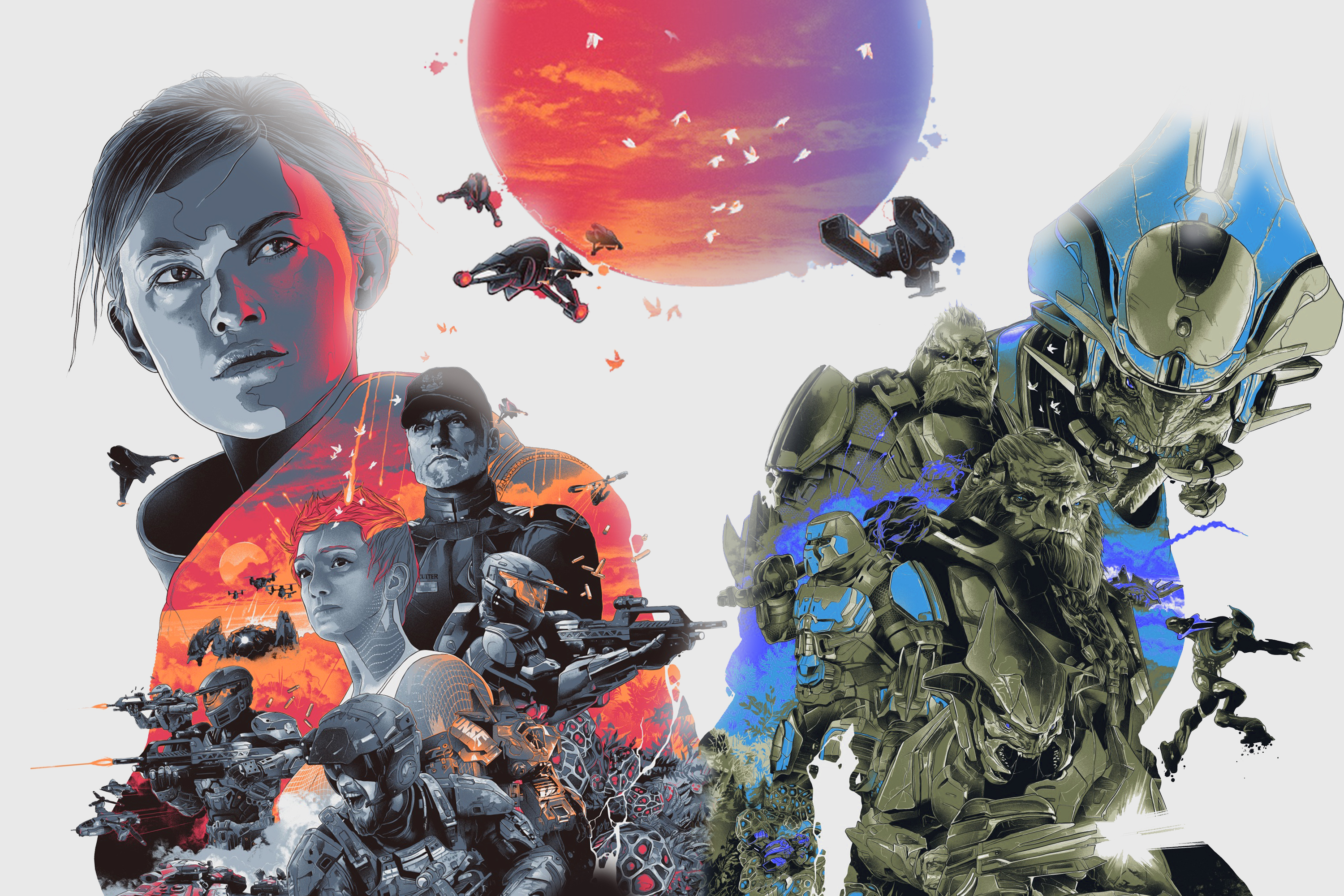 Halo Wars 2 Leaders Wallpaper Image - Alphazulu