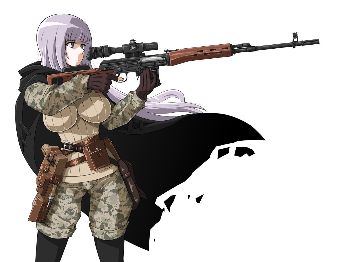 Sniper girl image allenzakiv blackwell mod db - Anime sniper girl ...