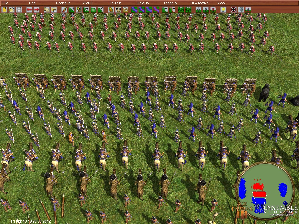 Report RSS AGE of Empires War (view original)