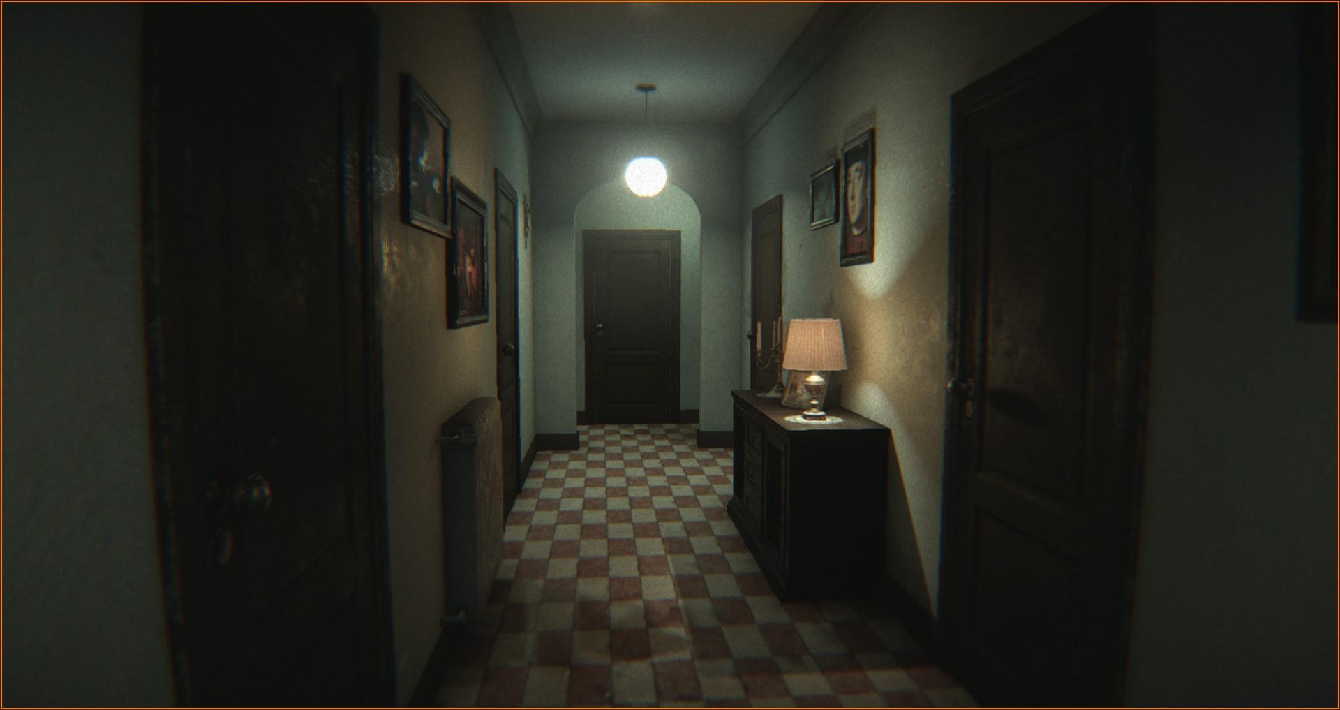 haunted house example scene