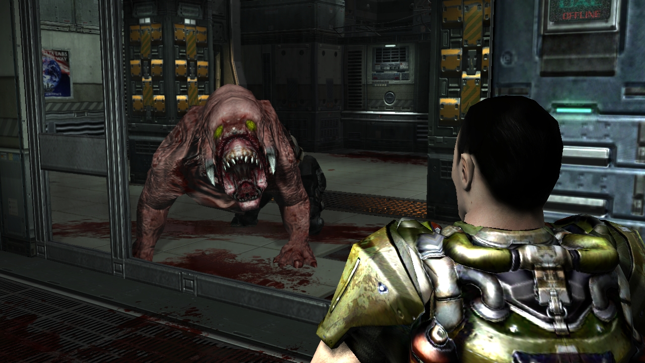 Classic doom 3 mod for hi def thread doom 3 bfg hi def for Classic 3