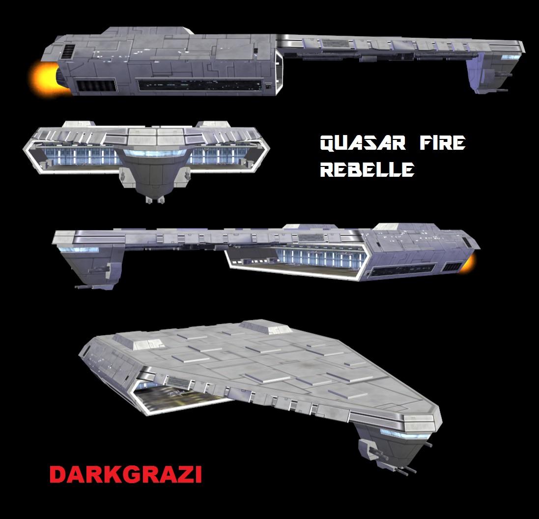 quasar fire