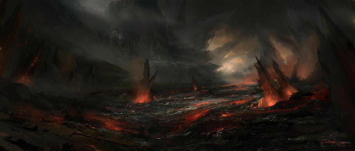 evil landscape background - photo #21