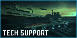 Tech Support Banner