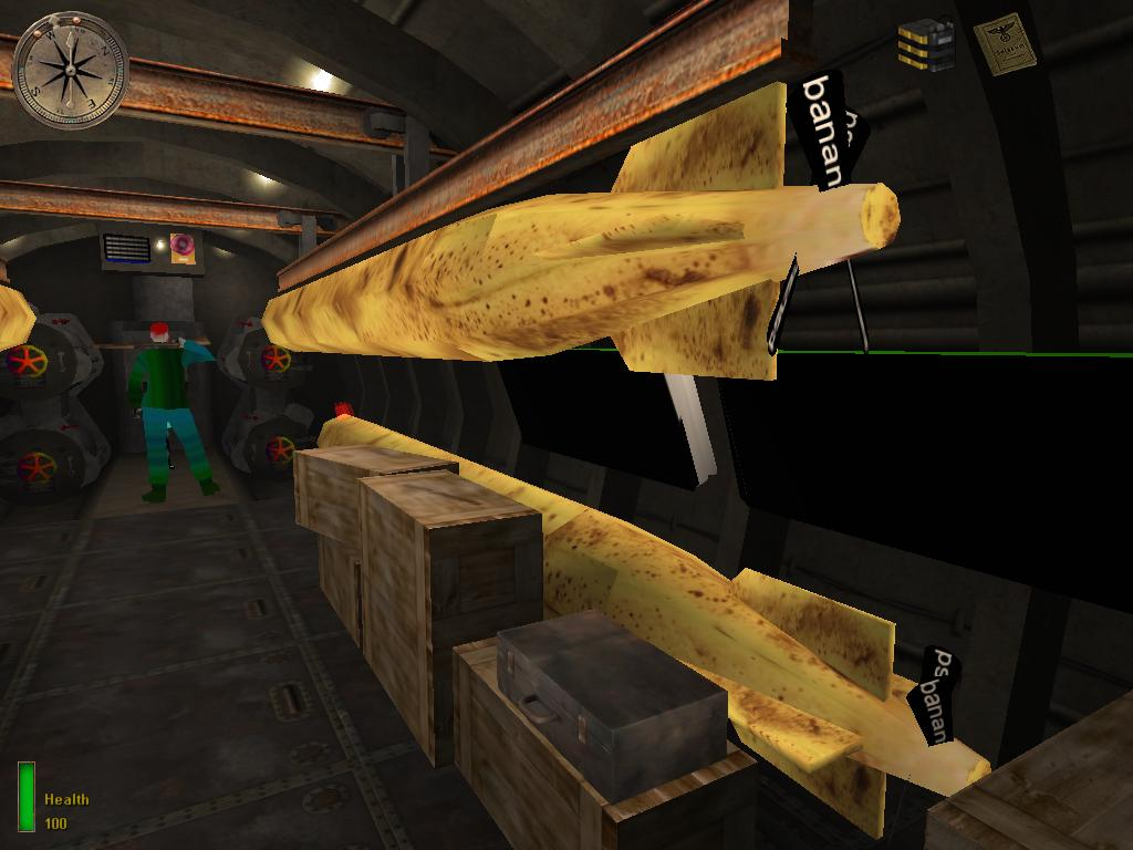 Map objects - Banana torpedo