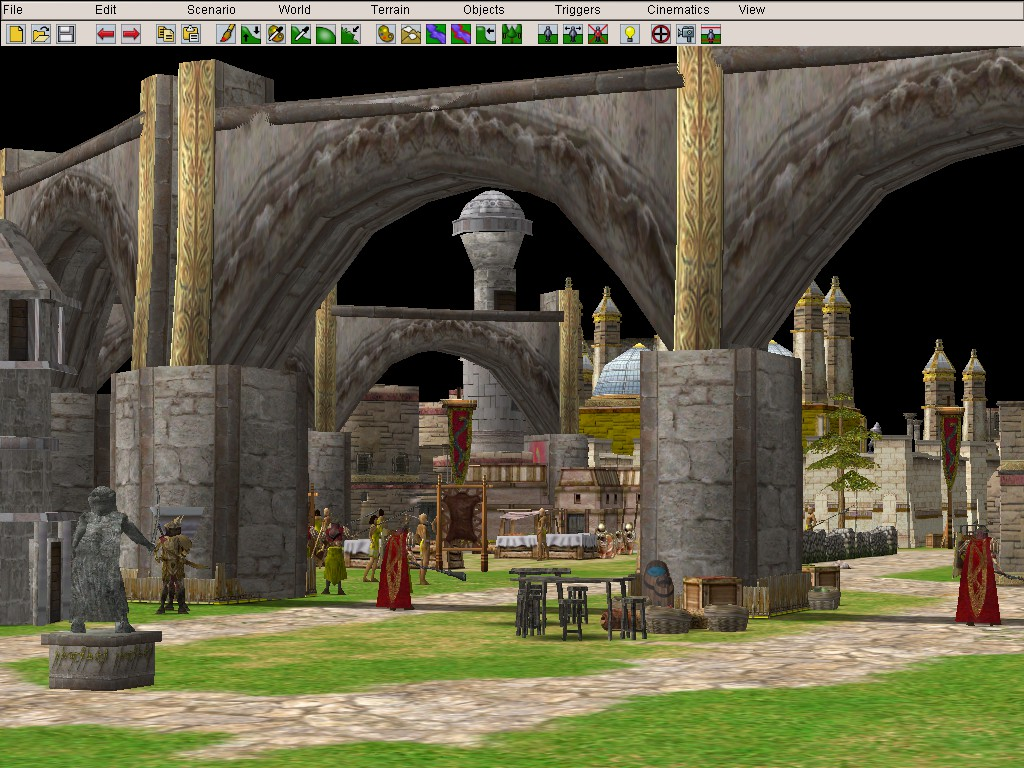 In-game shots of the Easterling City of Khand... What awaits the sprawling city?