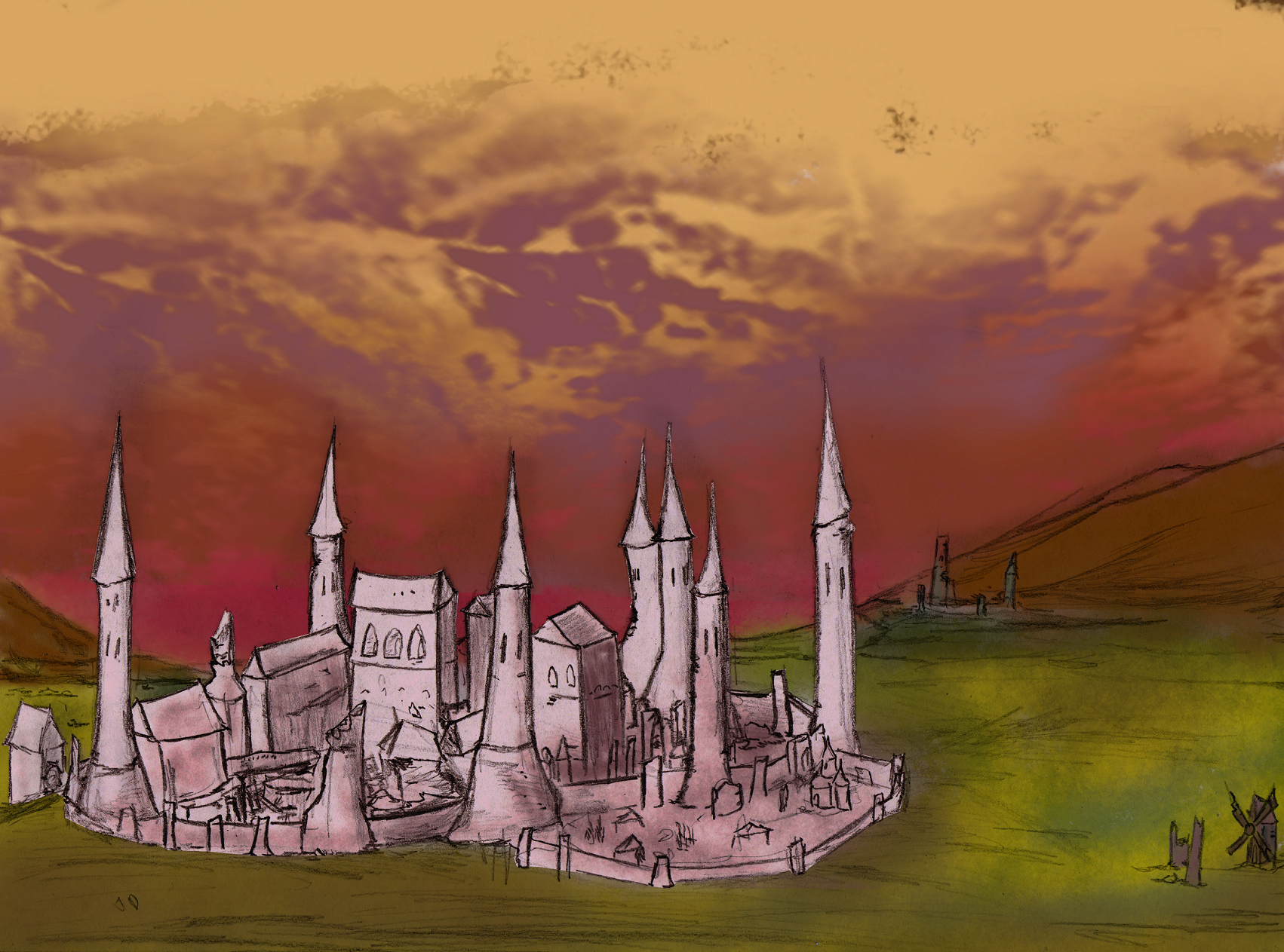 Bastion Ruins Concept2