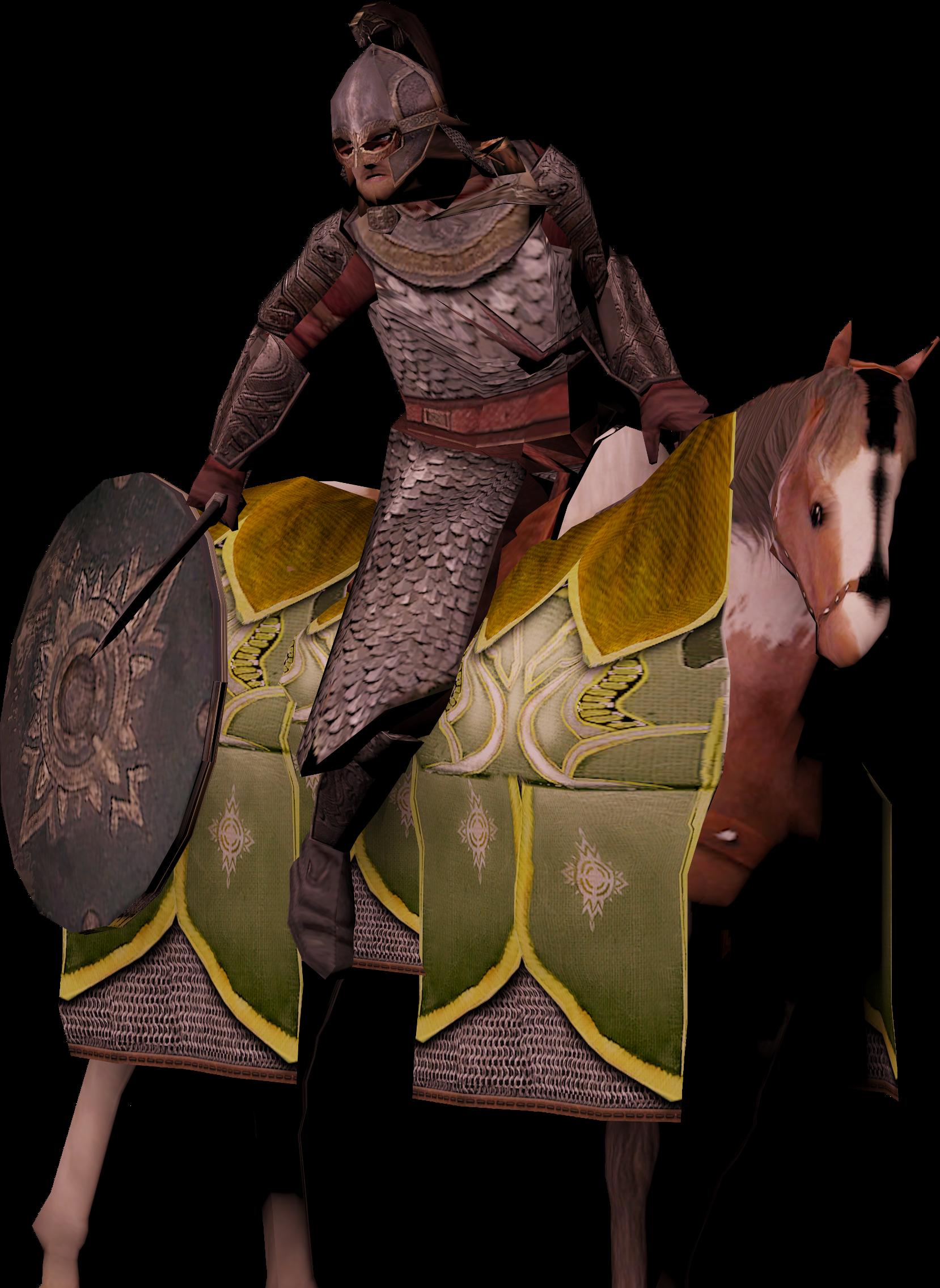 Rohan Rider Render3
