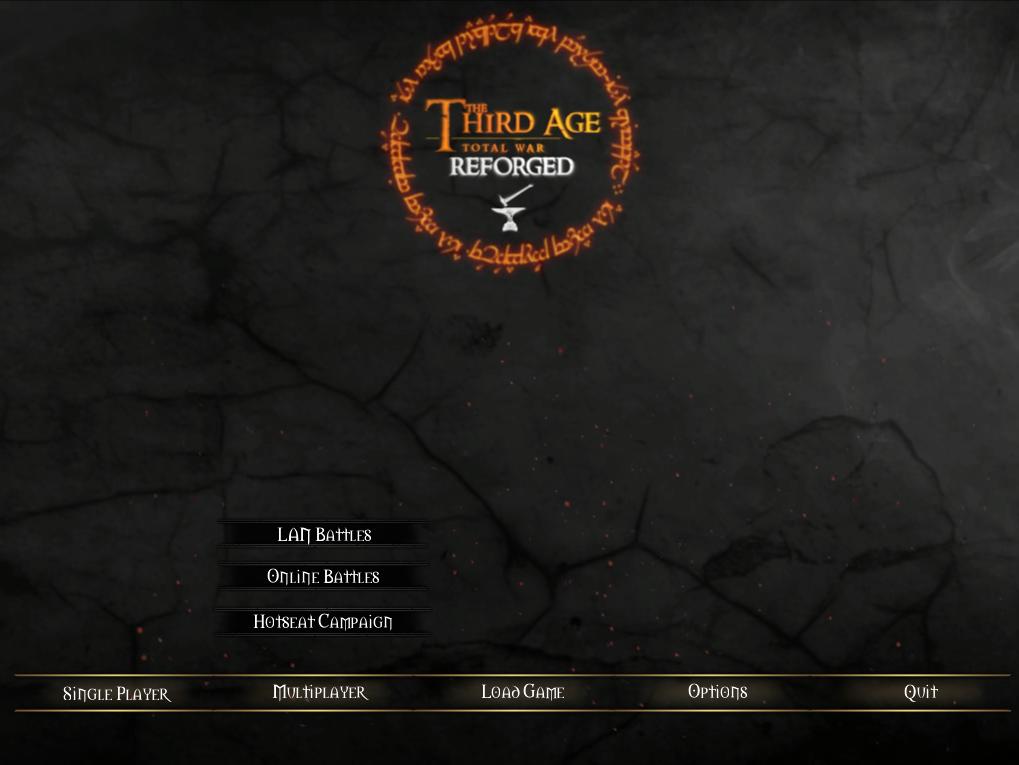 new menu background and UI