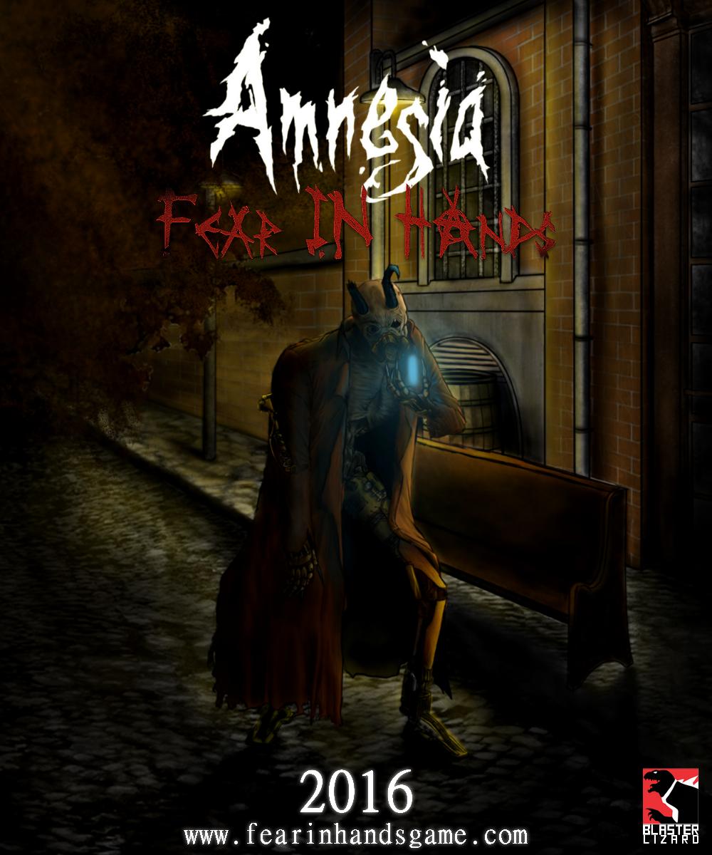 Amnesia: Fear in Hands Cover Art