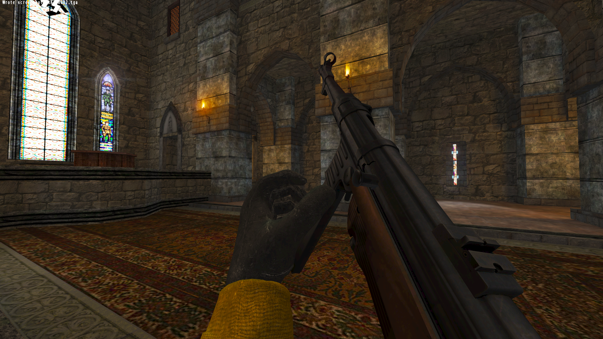 New MP40 model with the new hands
