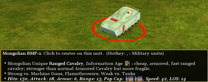 Mongolian BMP-1