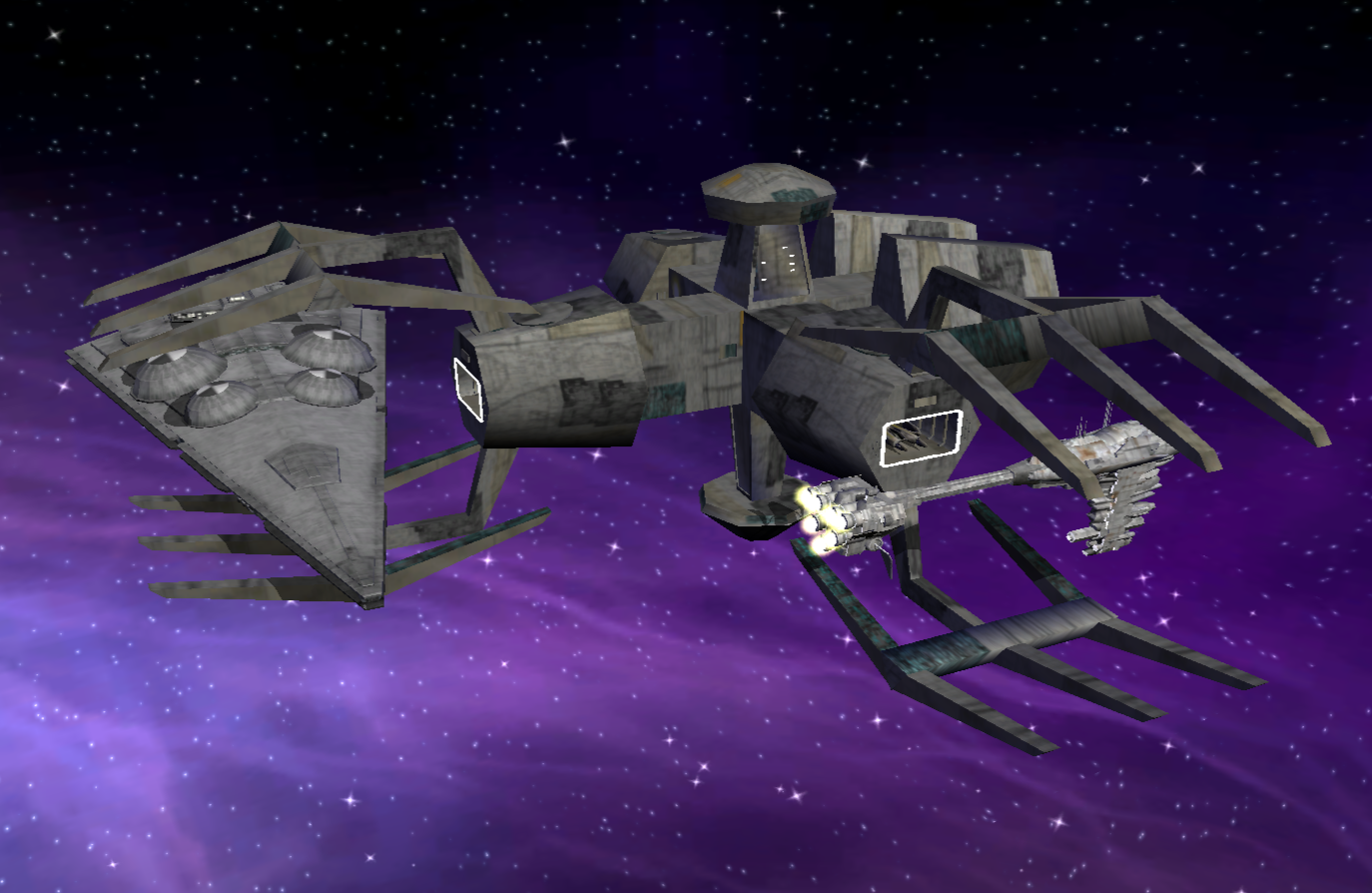 Standard frigate shipyard with an Immobilizer and nebulon docked.