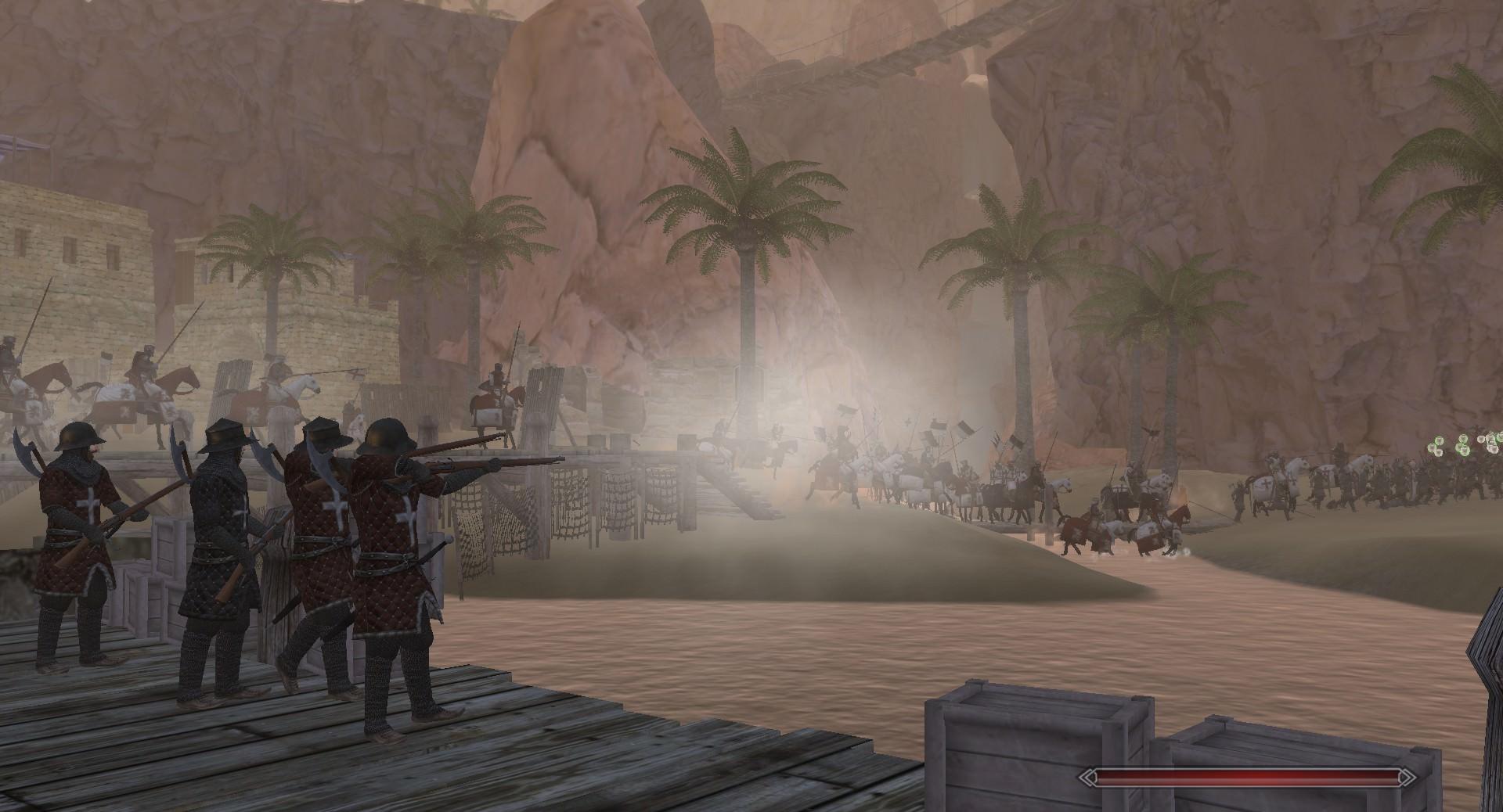 Crusader troops in Full Invasion