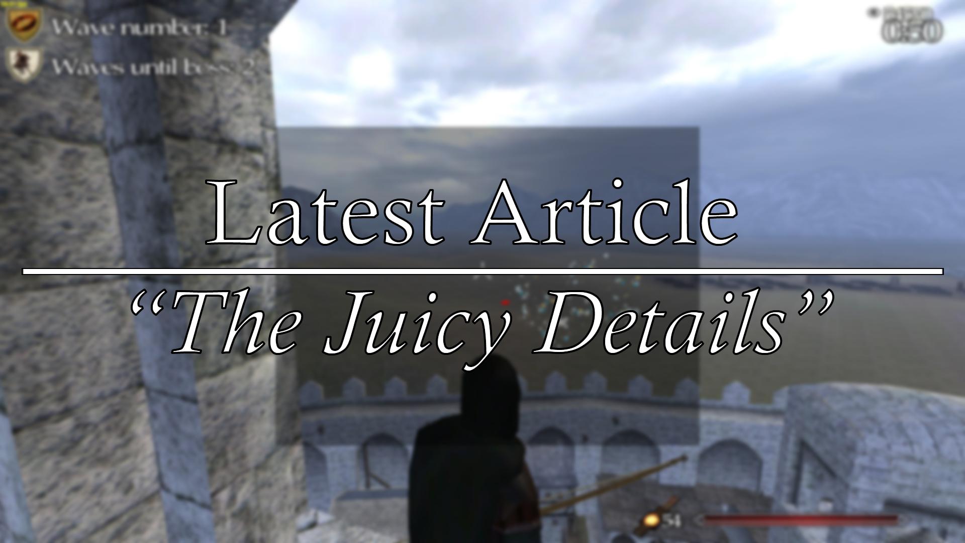 latest article juicy details