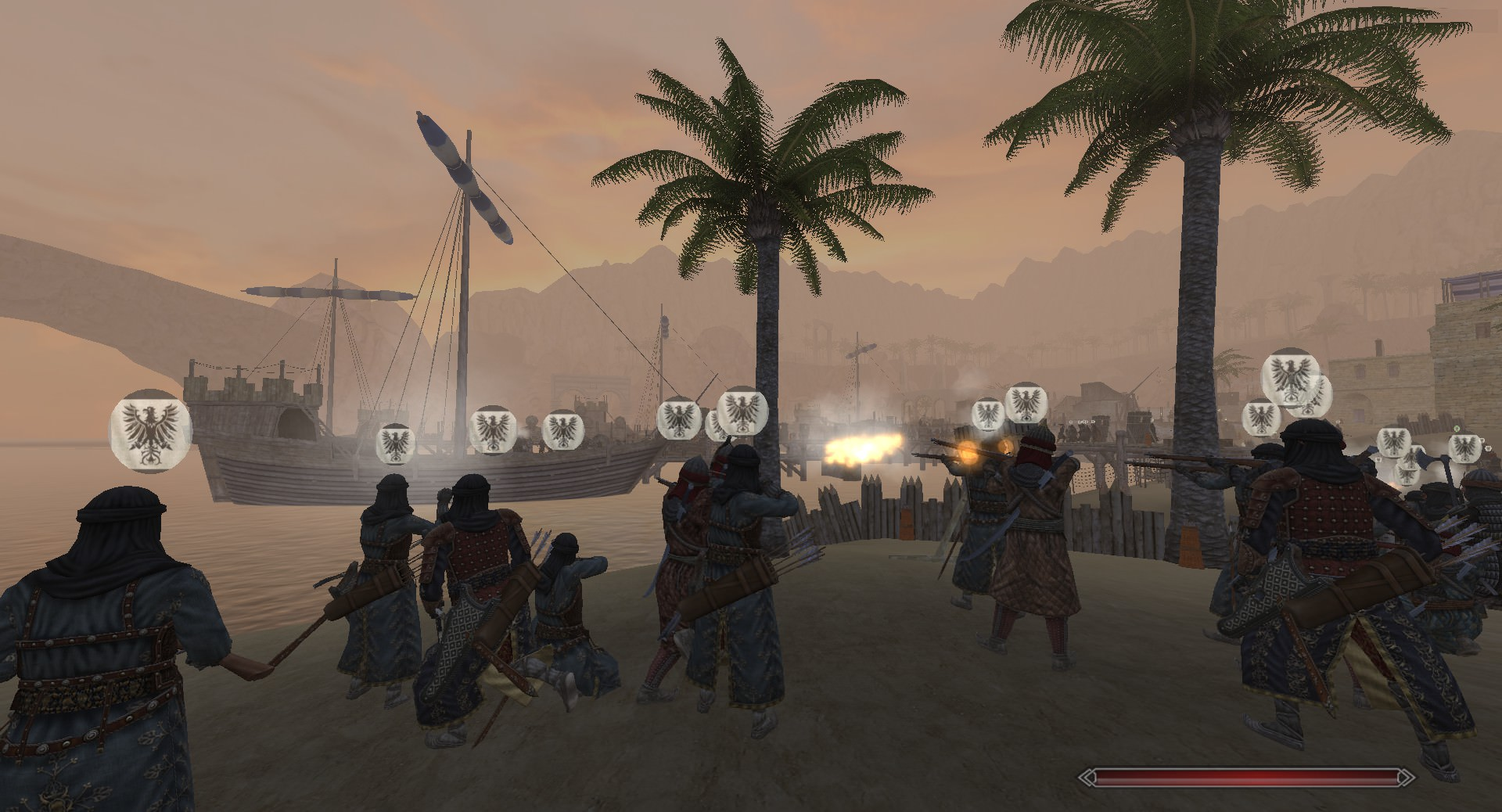 Saracen troops in Full Invasion