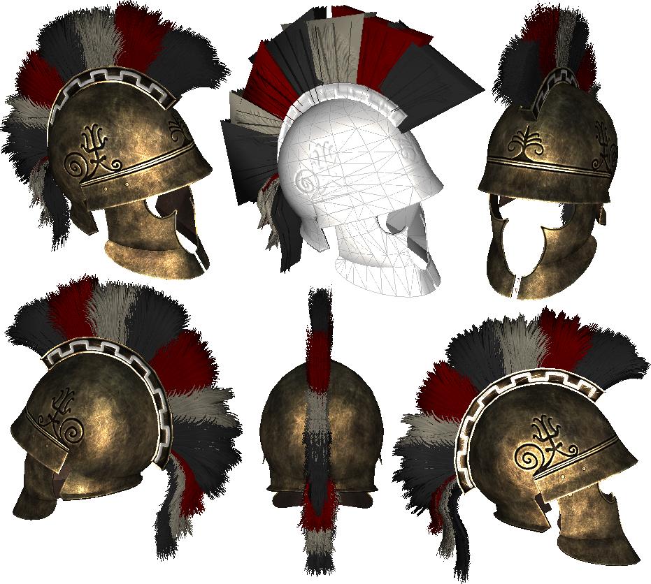 Thracian Plumed Helmet Image Rgcotl Mod Db