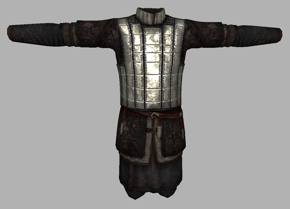 mongolian scale armor