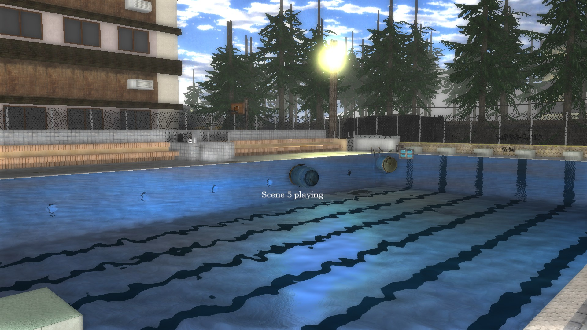Image from the benchmark. Pool.