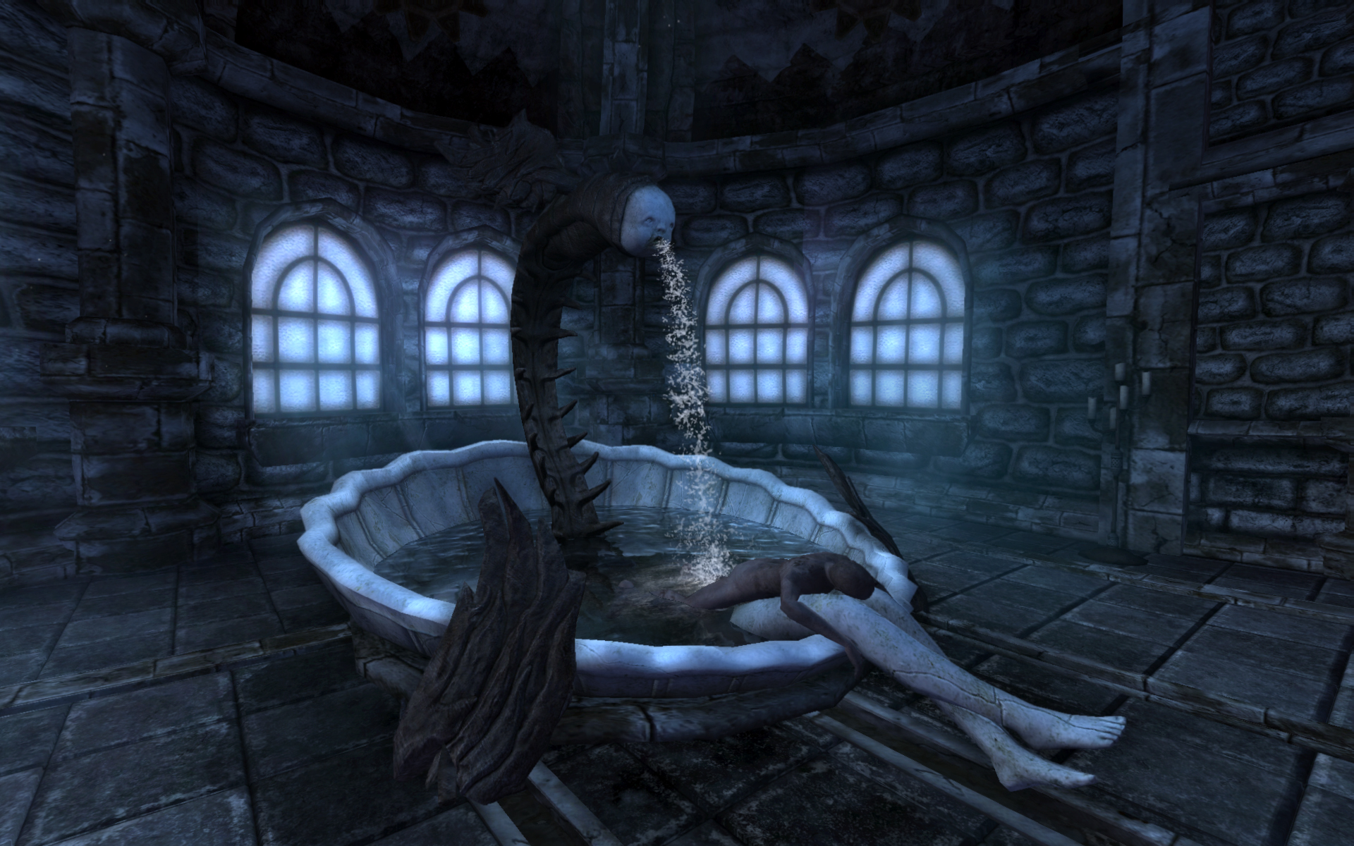 A fountain in Amnesia: The Dark Descent