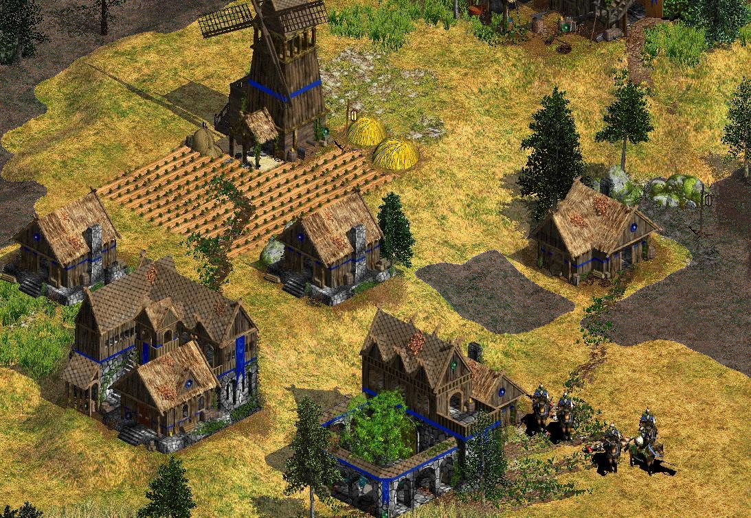 A Rohirrim village