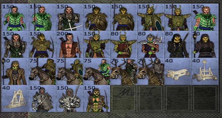 Aldmeri roster