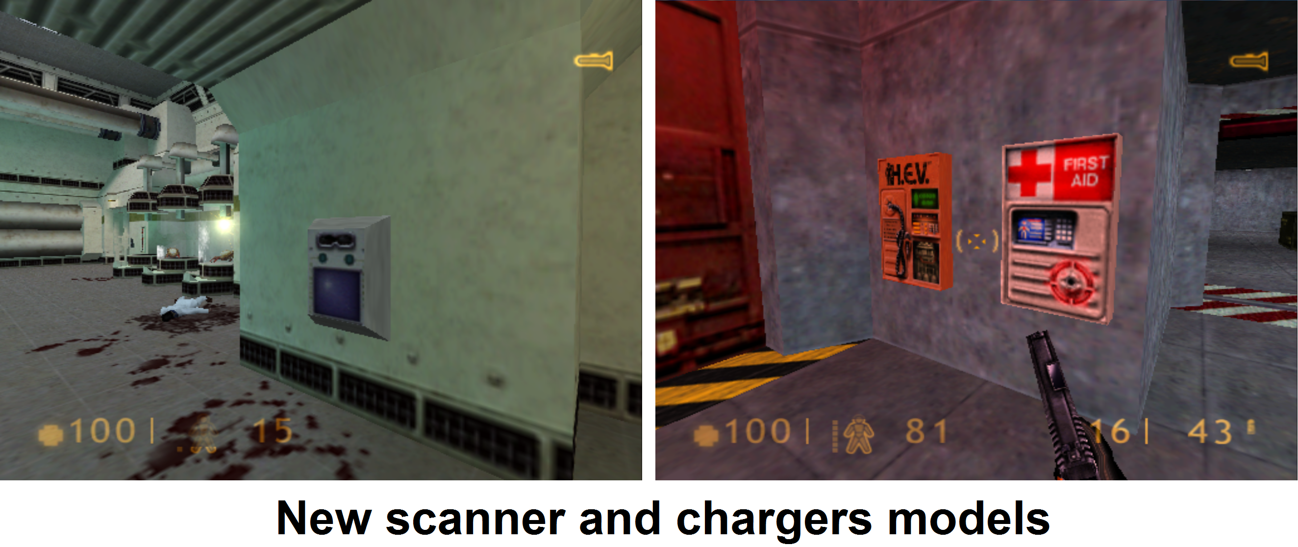 New models for scanner and chargers.
