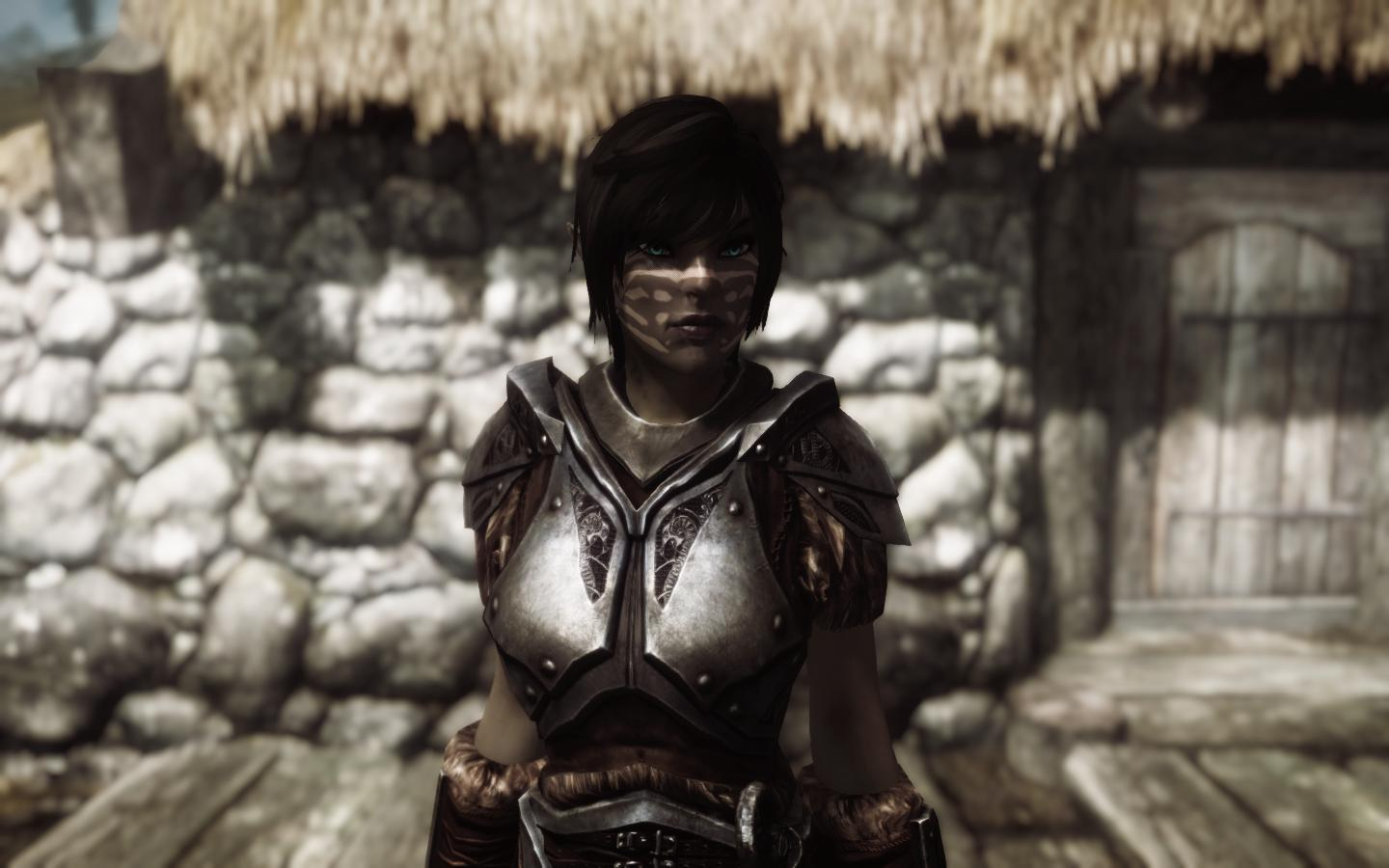 Skyrim female character mods fucks scene