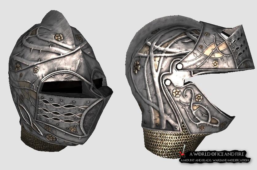Loras Tyrell Helmet created by Kraggrim