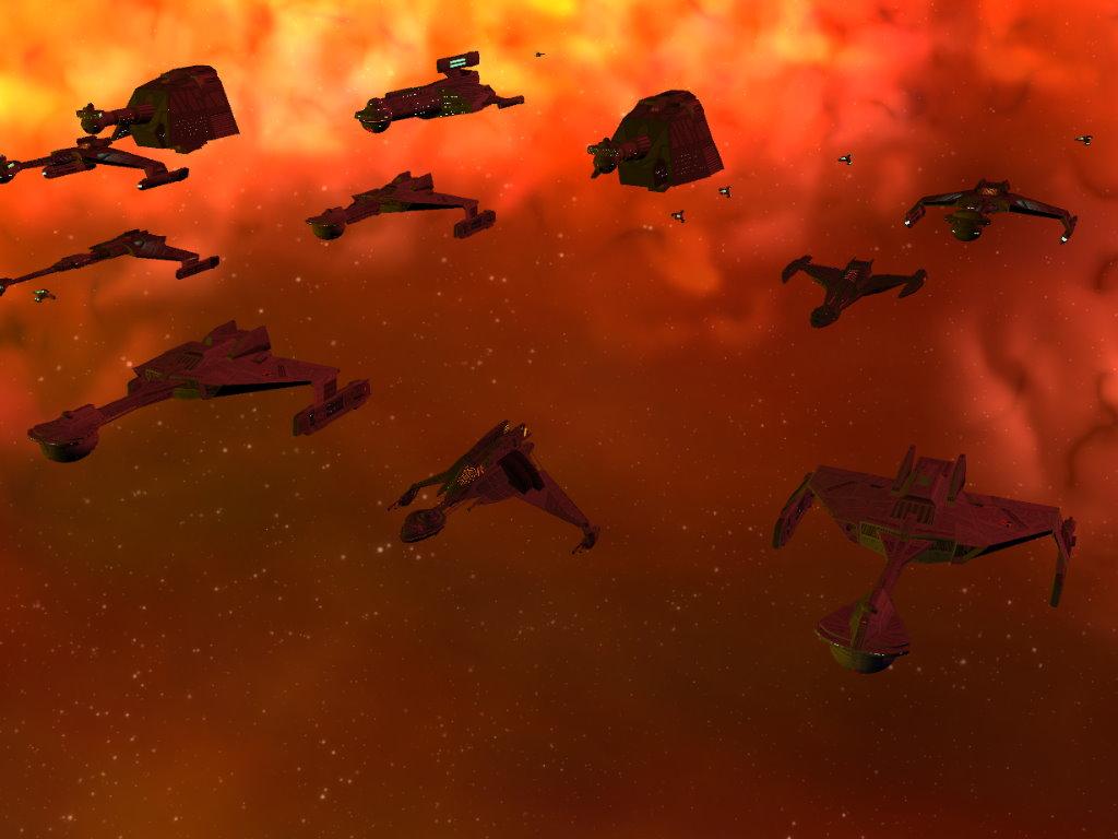 K't'RagH Class starships lead the way
