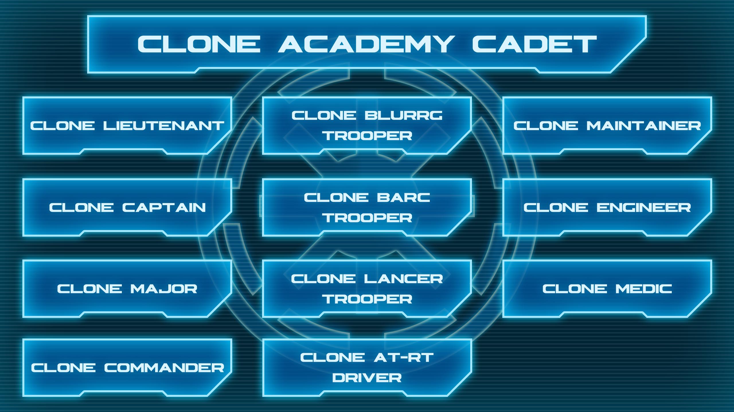 Clone Academy Cadet Tree 2