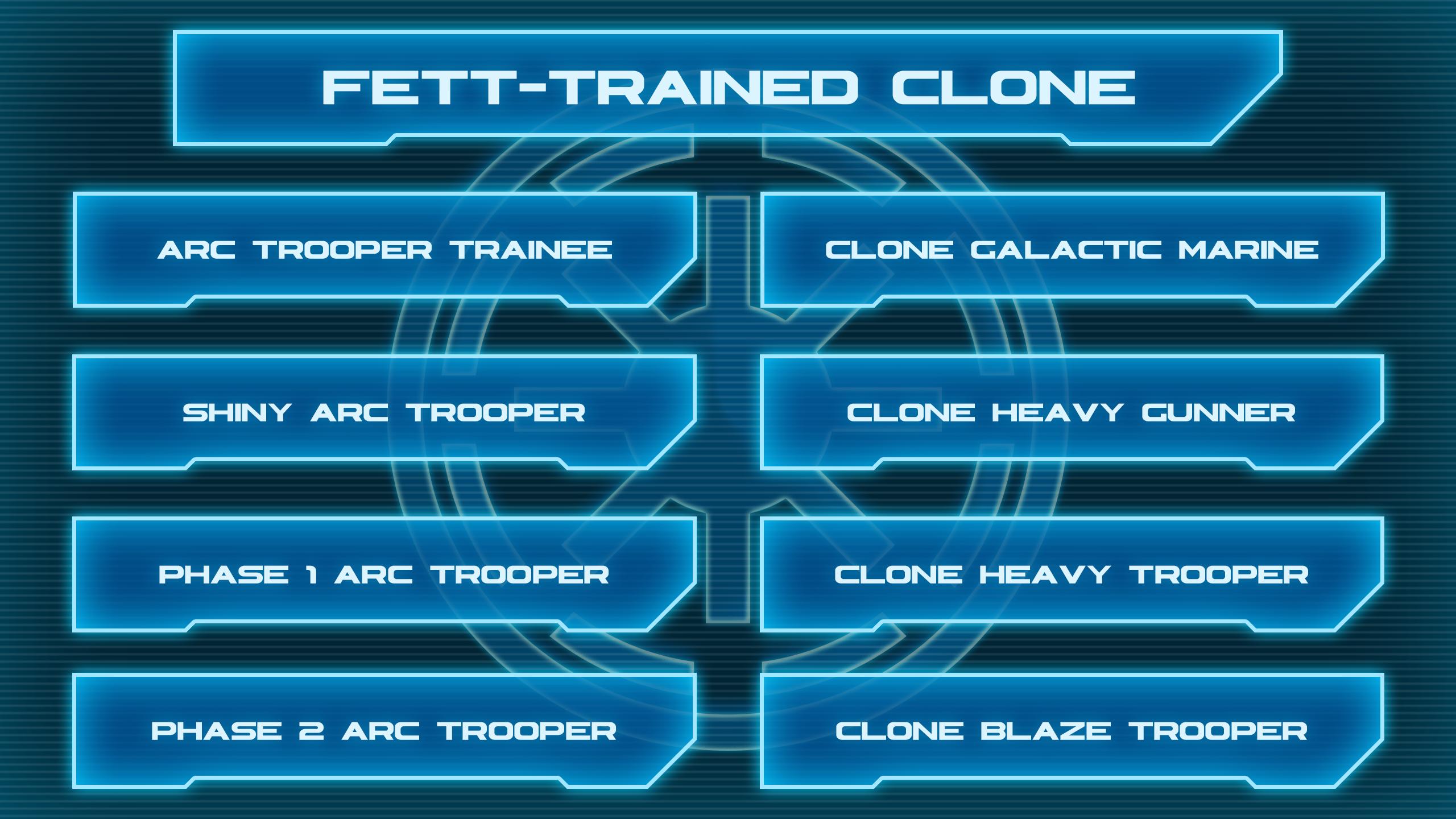 Fett Trained Clone Tree 1