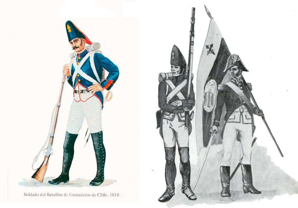 Chile's Infantry Grenadiers news - Mod DB