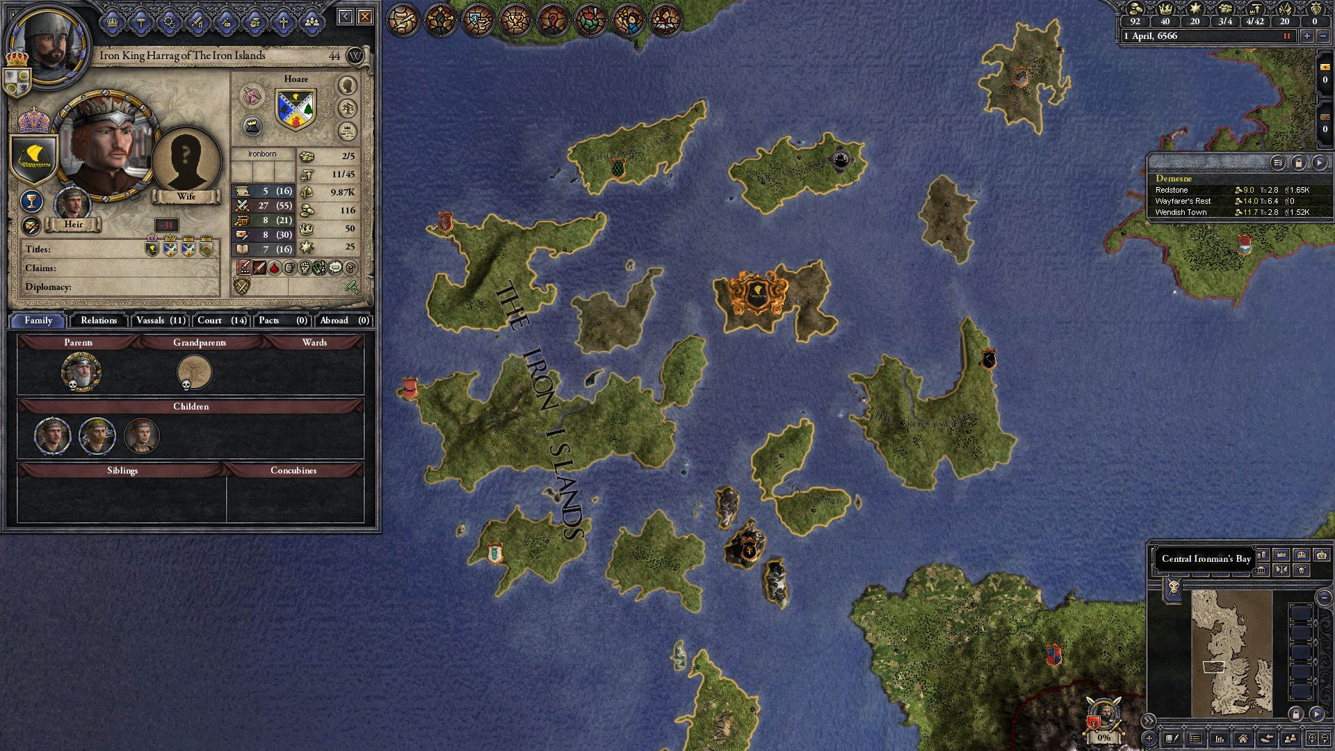Crusader Kings II: The Seven Kingdoms mod - Mod DB