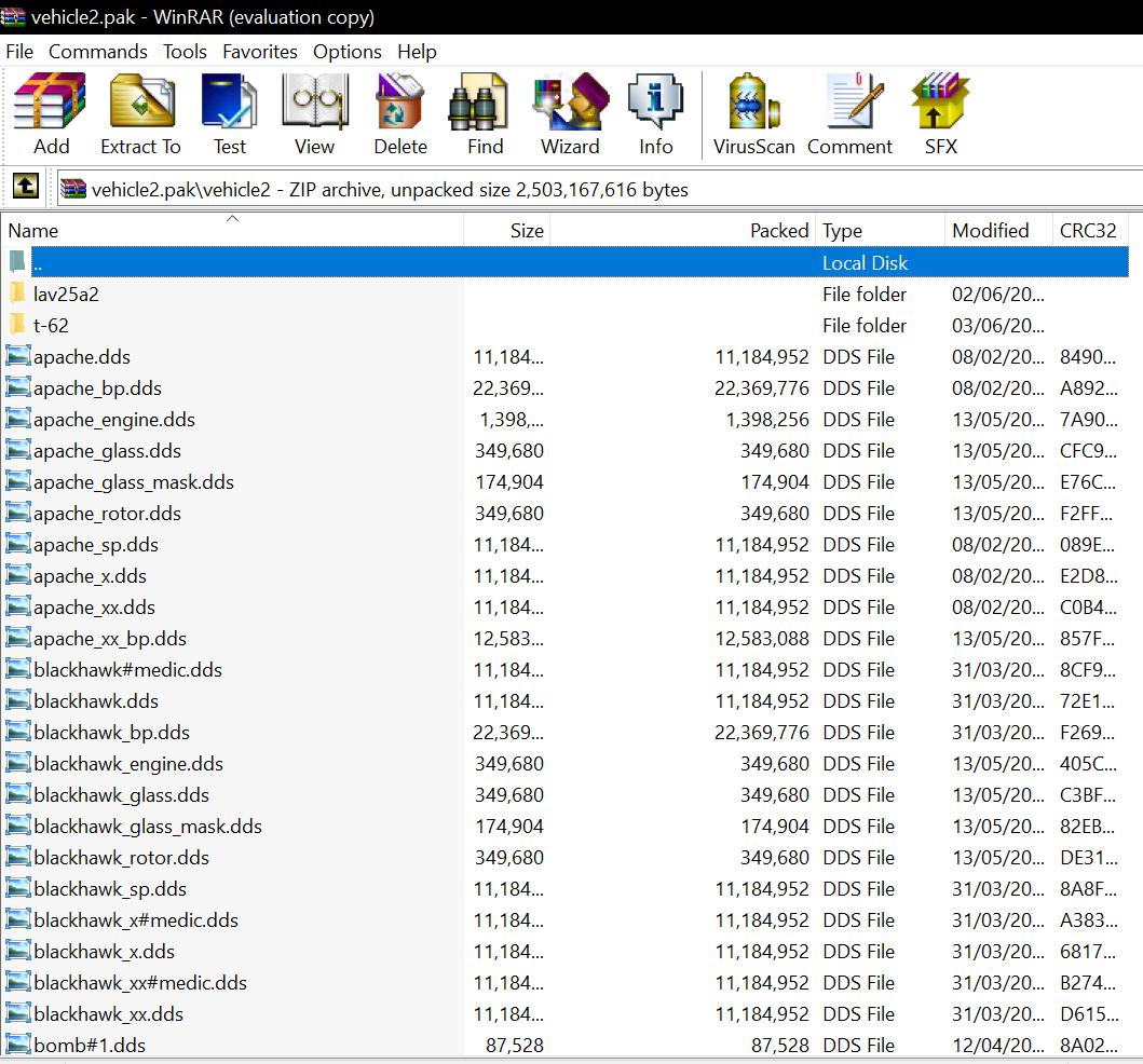 .dds files