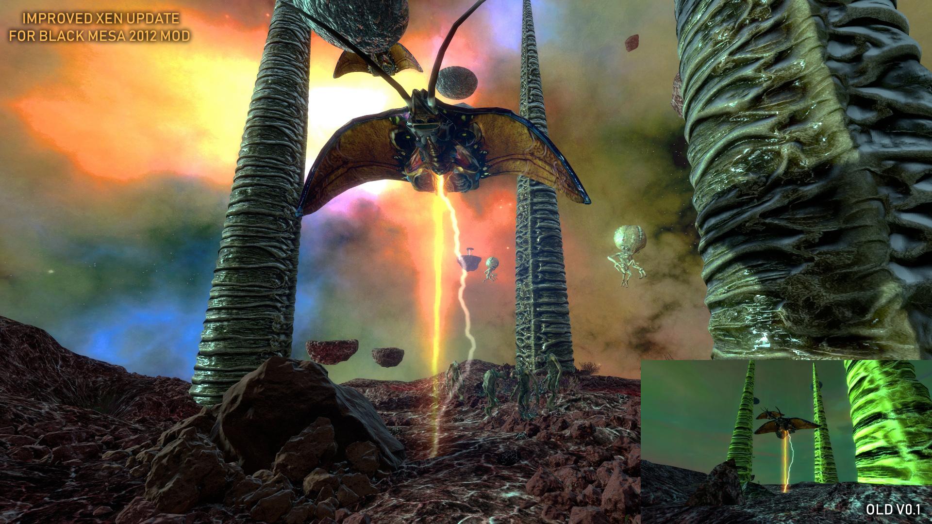 Black Mesa: Improved Xen mod - Mod DB