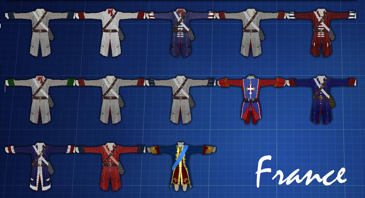 France - Uniforms