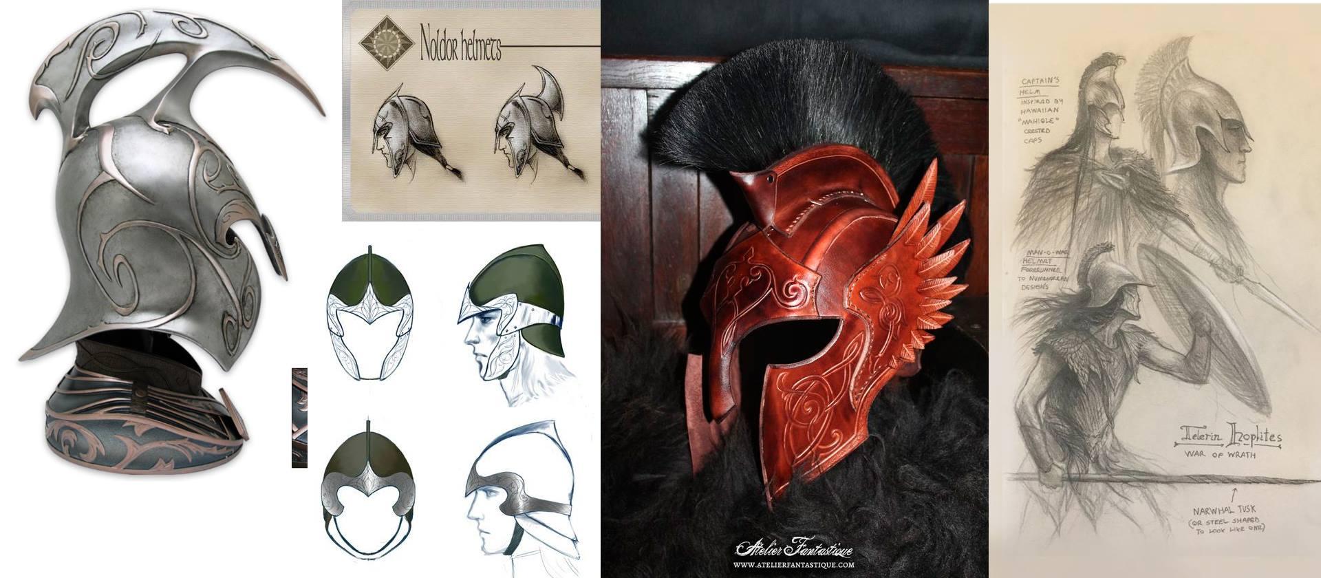 Elves helmets references