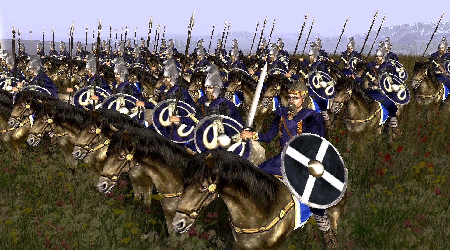 Frankish Paladins bodyguard