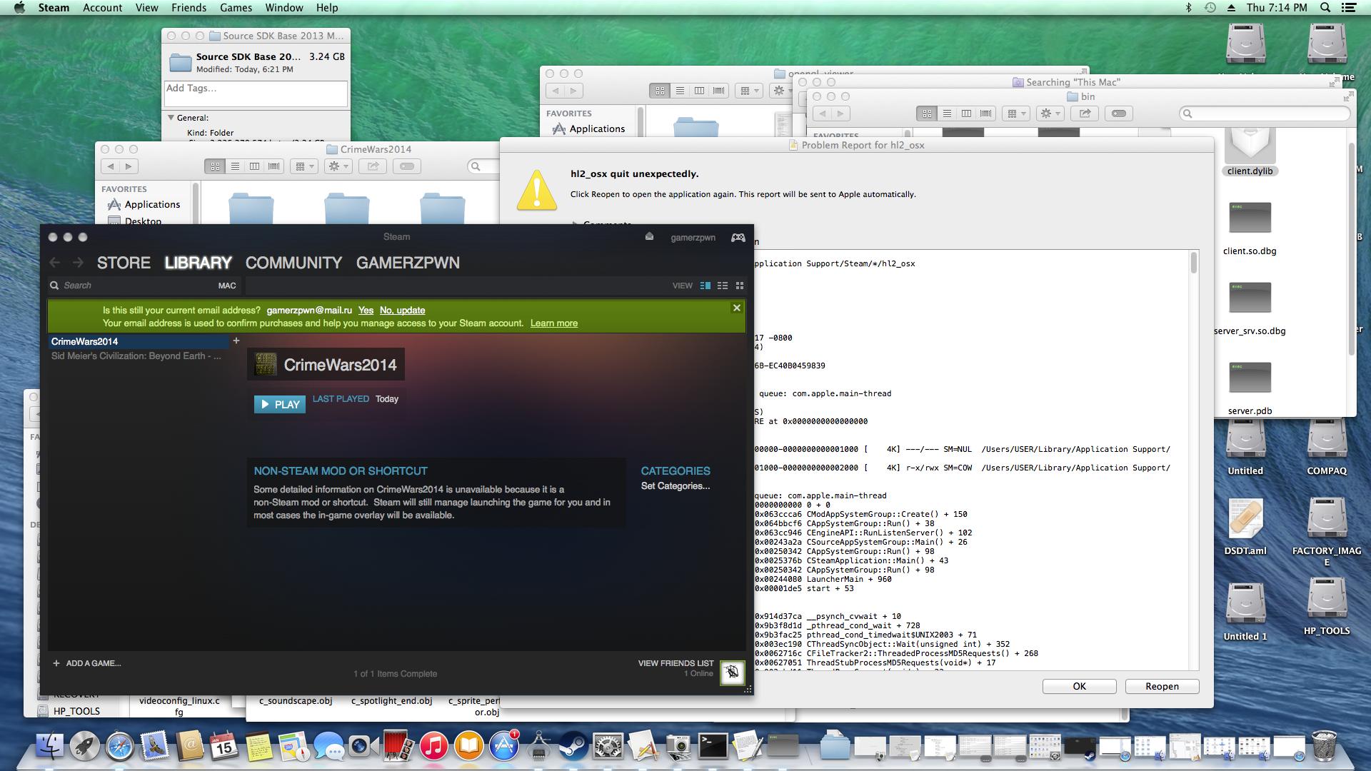 Mac coming soon! Got OpenGL to work on Hackingtosh! news