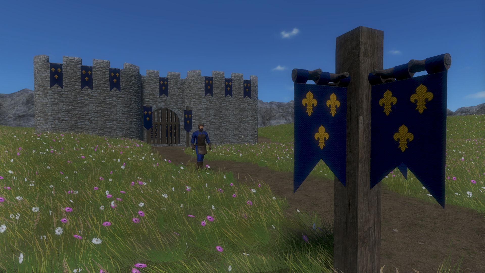Medieval Flags Mod Image 1