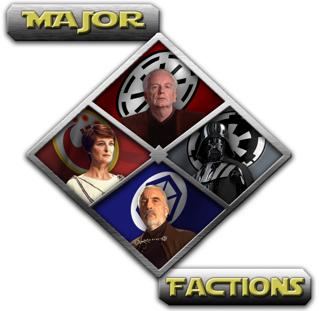 The Four Major Factions and their leaders