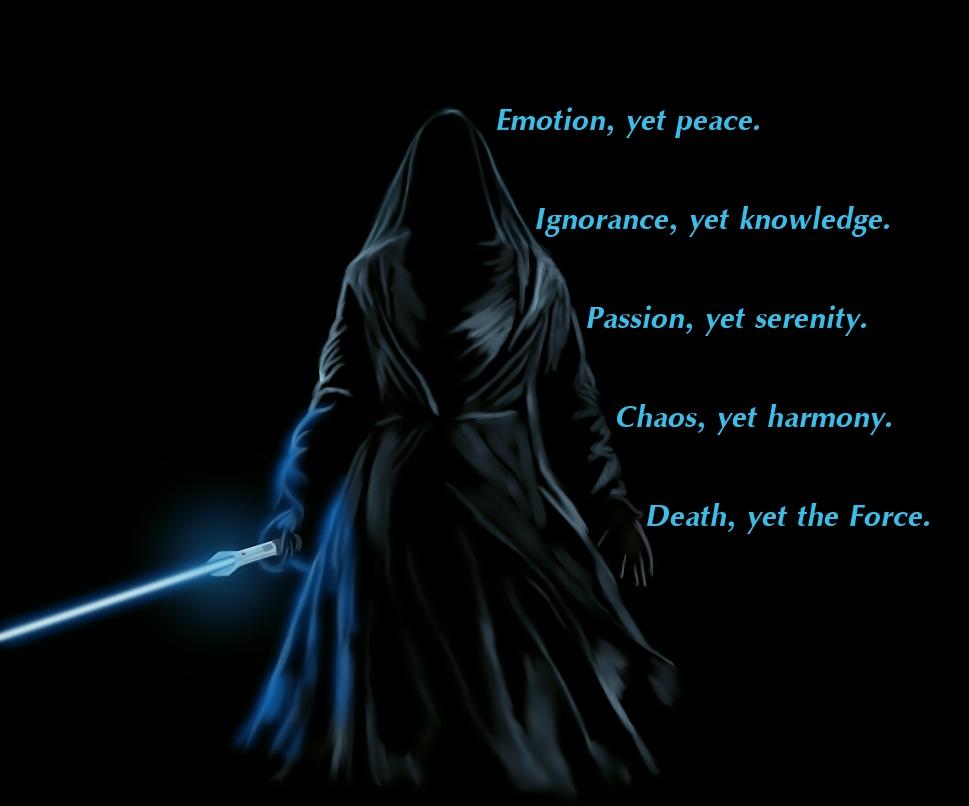 Masterellvanite... Jedi Code Wallpaper
