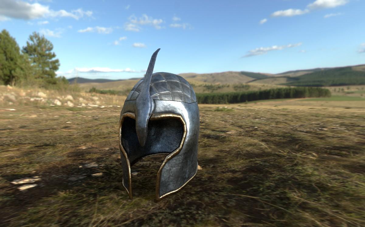 DTW   Grey Warden Talon Helmet