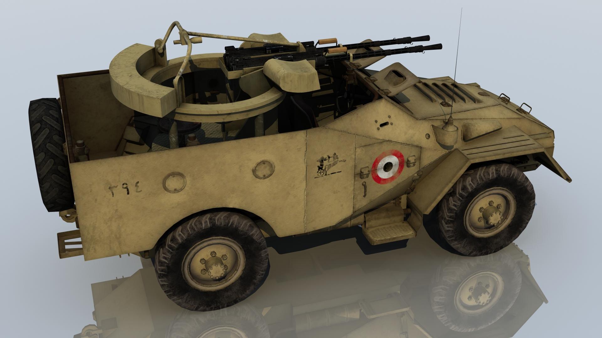 BTR40A EGYPT1967 1