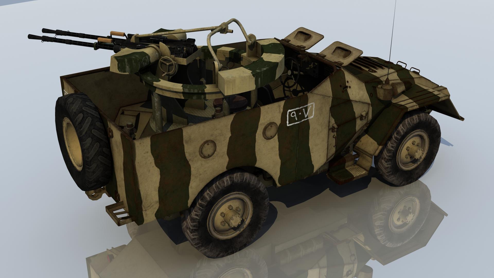 BTR40A EGYPT1973 2