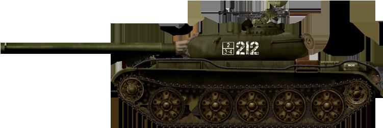 T 54 1 1949 Egypt1956