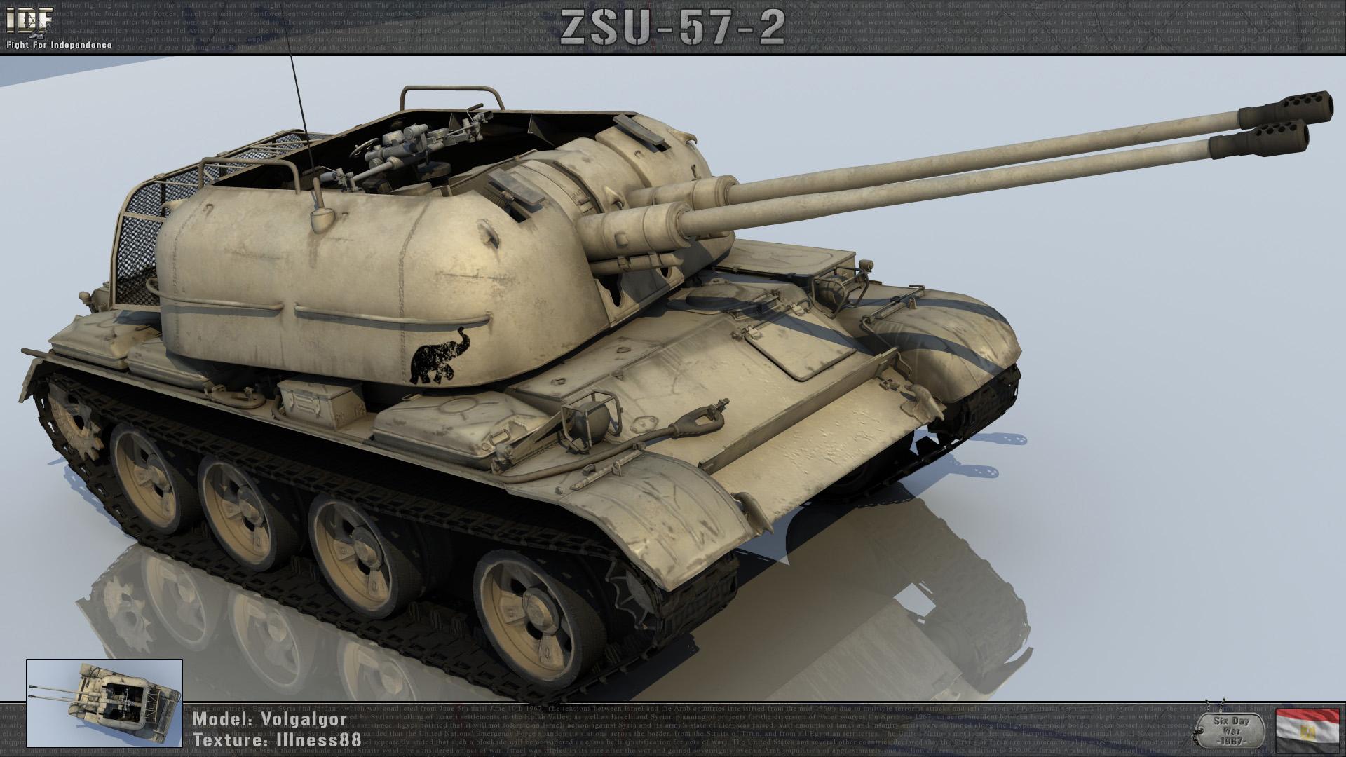 ZSU 57 2 EG 67
